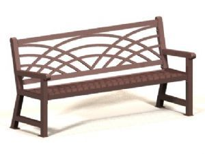 Naples B72 Metal Bench