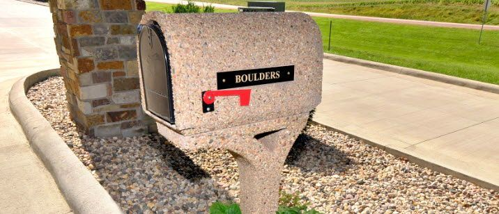 Concrete Mailboxes