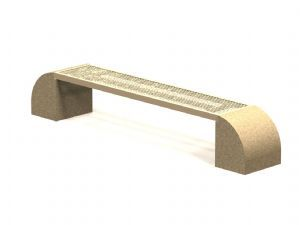 HM Seies Concrete Bench