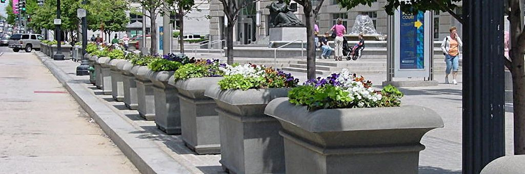 Square Planters, Security