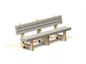 PB-PL Concrete Bench