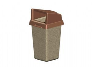 PW Square Receptacle
