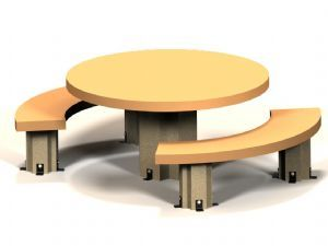 Round RND-5F Table