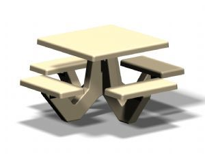Square R-OTS-ST Table