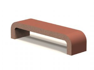 Royal-72 Concrete Bench