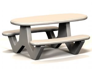 Handicap Oval Table