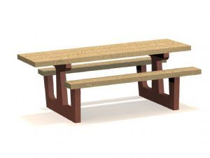 Handicap Wood Table