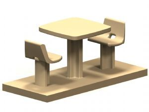 Square SQC280 Table