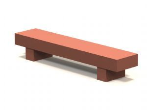 SSS-96 Concrete Bench