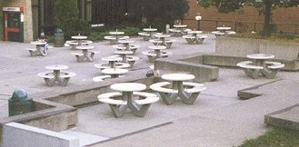 Stupendous Concrete Tables Petersen Manufacturing Co Inc Home Interior And Landscaping Fragforummapetitesourisinfo
