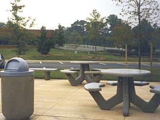 Concrete Tables Petersen Manufacturing Co Inc - Concrete picnic table forms
